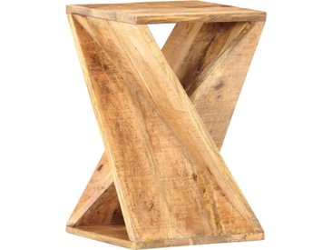 Table d'appoint 35 x 35 x 55 cm Bois de manguier massif - vidaXL
