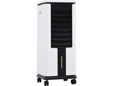 Refroidisseur d'air Humidificateur Purificateur d'air 3en1 75 W - vidaXL