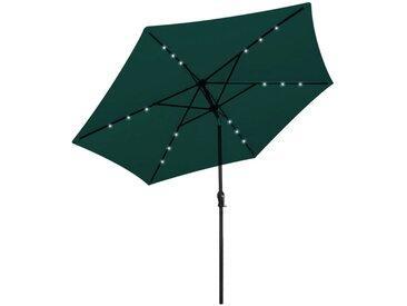 Parasol en porte-à-faux 3 m Vert - vidaXL