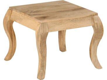 Table d'appoint 45x45x40 cm Bois de manguier massif - vidaXL
