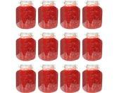 Pots à confiture en verre avec serrure 12 pcs 5 L - vidaXL