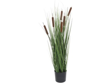 Plante artificielle avec scirpe 35 cm - vidaXL