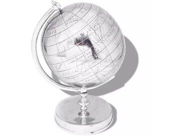 Globe terrestre avec support Aluminium Argenté 42 cm - vidaXL