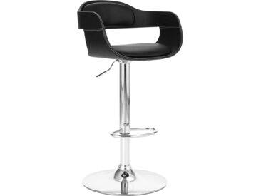 Chaise de bar Noir Similicuir - vidaXL