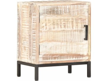Table de chevet 40 x 30 x 50 cm Bois d'acacia massif - vidaXL
