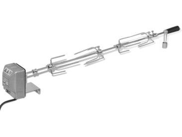 Broche à rôtir avec moteur 1000 mm Acier - vidaXL
