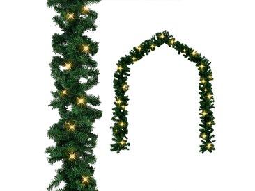 Guirlande de Noël avec lumières LED 20 m - vidaXL
