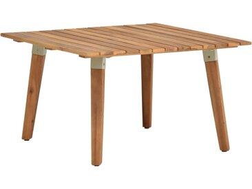 Table basse de jardin 60x60x36 cm Bois solide d'acacia - vidaXL
