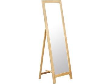 Miroir sur pied 48x46,5x150 cm Bois de chêne solide - vidaXL
