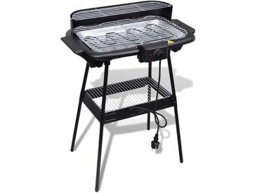 Barbecue rectangulaire électrique de jardin - vidaXL