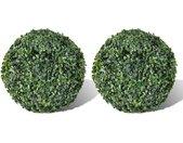 Plante artificielle 2 pcs 27 cm - vidaXL
