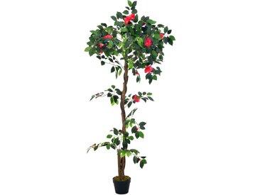 Plante artificielle avec pot Camélia Vert 160 cm - vidaXL
