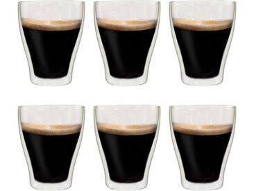 6 pcs Verres thermos à double paroi pour café expresso 370 ml  - vidaXL