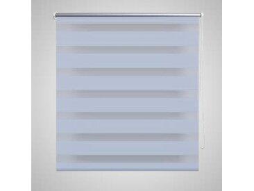 Store enrouleur tamisant 140 x 175 cm blanc - vidaXL