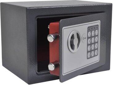 Coffre-fort numérique électronique 23x17x17 cm - vidaXL