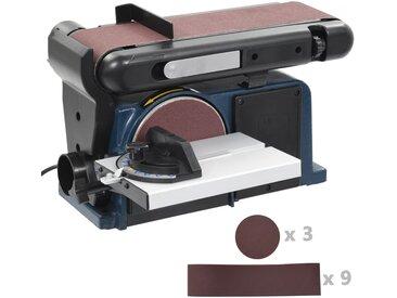 Ponceuse à disque et à bande électrique 370 W 150 mm - vidaXL