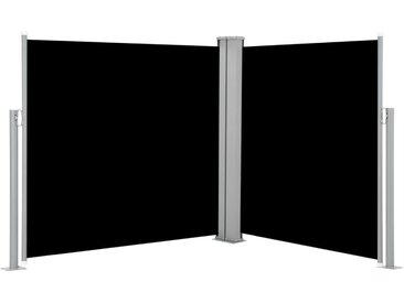 Auvent latéral rétractable Noir 120 x 600 cm - vidaXL