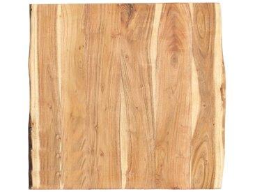 Dessus de table de cuisine Bois d'acacia massif 60x60x3,8 cm - vidaXL