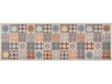 Tapis de cuisine lavable Couleur mosaïque 60x300 cm - vidaXL