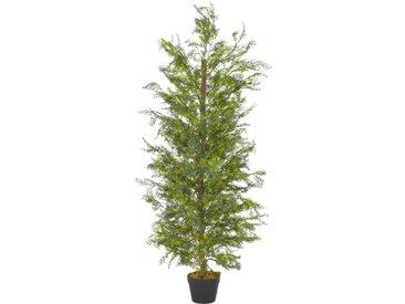Plante artificielle avec pot Cyprès Vert 150 cm - vidaXL