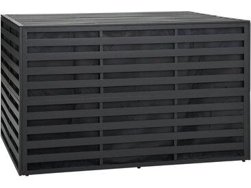 Boîte de rangement de jardin Aluminium 150x100x100cm Anthracite - vidaXL