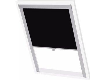 Store enrouleur occultant Noir F06  - vidaXL
