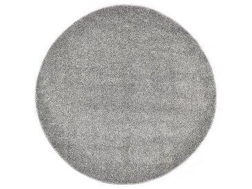 Tapis Shaggy 67 cm Gris - vidaXL
