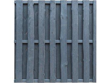 Panneau de clôture Pinède FSC 180x180 cm Gris  - vidaXL