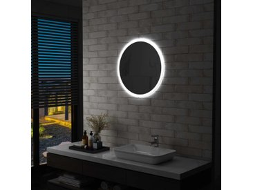 Miroir à LED pour salle de bain 60 cm - vidaXL