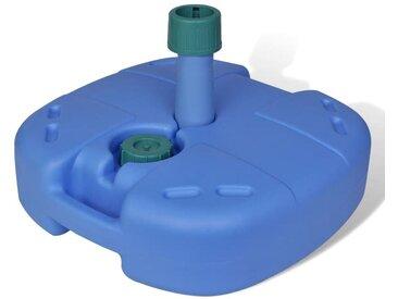 Pied de parasol portable à remplir avec de l'eau ou du sable - vidaXL
