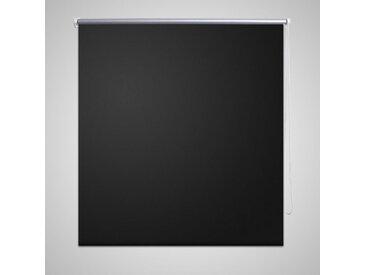 Store enrouleur occultant 160 x 175 cm noir - vidaXL