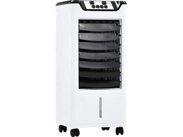 Refroidisseur d'air Humidificateur Purificateur d'air 3en1 60 W - vidaXL