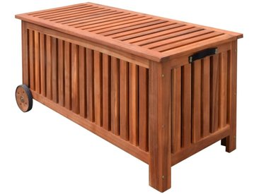 Boîte de rangement de jardin 118 x 52 x 58 cm Bois   - vidaXL