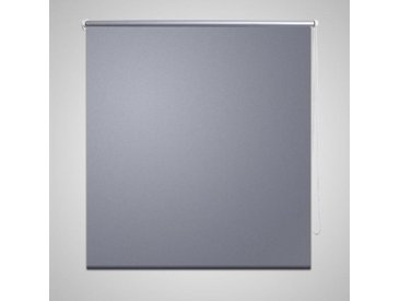 Store enrouleur occultant 120 x 175 cm gris - vidaXL