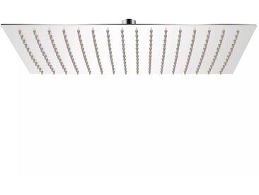 Tête de douche plongeante rectangulaire en acier inoxydable 30x40 cm - vidaXL