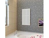Porte-serviette 465mm + Radiateur panneau blanc 465 mm x 900 mm - vidaXL