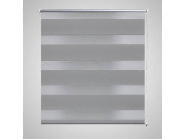 Store enrouleur tamisant 140 x 175 cm gris - vidaXL
