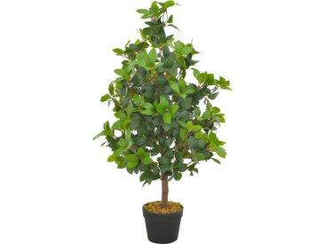 Plante artificielle avec pot Laurier Vert 90 cm - vidaXL
