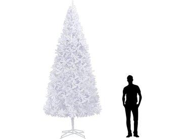 Sapin de Noël artificiel 400 cm Blanc  - vidaXL