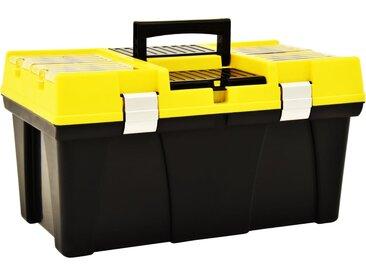 Boîte à outils Plastique 595x337x316 mm Jaune - vidaXL