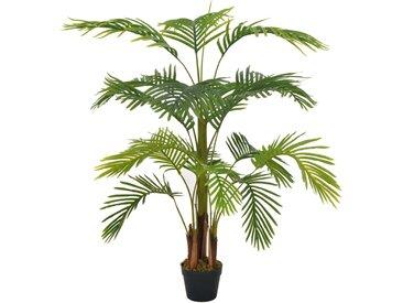 Plante artificielle avec pot Palmier Vert 120 cm - vidaXL