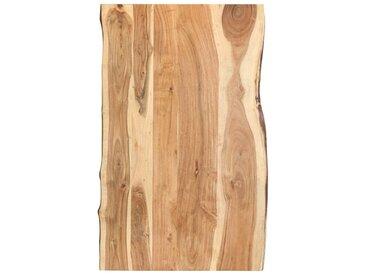 Dessus de table de cuisine Bois d'acacia massif 100x60x3,8 cm - vidaXL