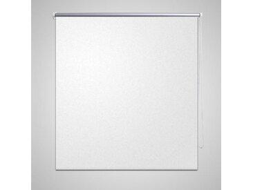 Store enrouleur occultant 160 x 230 cm blanc - vidaXL
