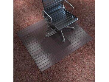 Tapis protège-sol / chaise Bambou marron 90 x 120 cm  - vidaXL