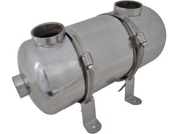 Échangeur de chaleur pour piscine 355 x 134 mm 40 kW - vidaXL