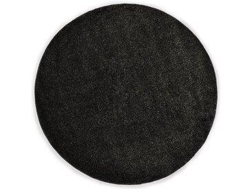 Tapis Shaggy 120 cm Anthracite - vidaXL