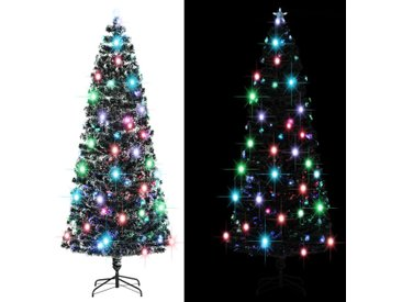 Arbre de Noël artificiel et support/LED 240 cm 380 branches - vidaXL