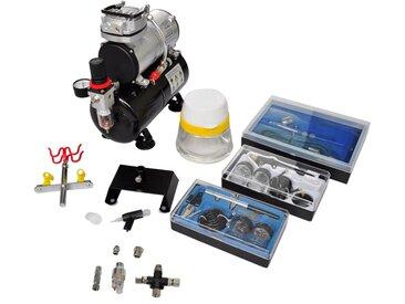 Kit de compresseur d'aérographe avec 3 pistolets - vidaXL