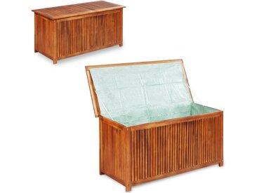 Boîte de rangement de jardin 117x50x58 cm Bois d'acacia solide - vidaXL