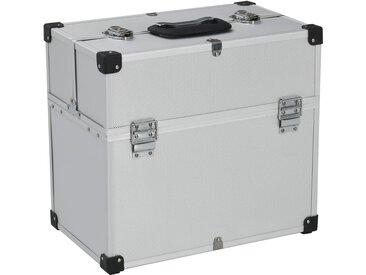 Boîte à outils 43,5 x 22,5 x 34 cm Argenté Aluminium - vidaXL